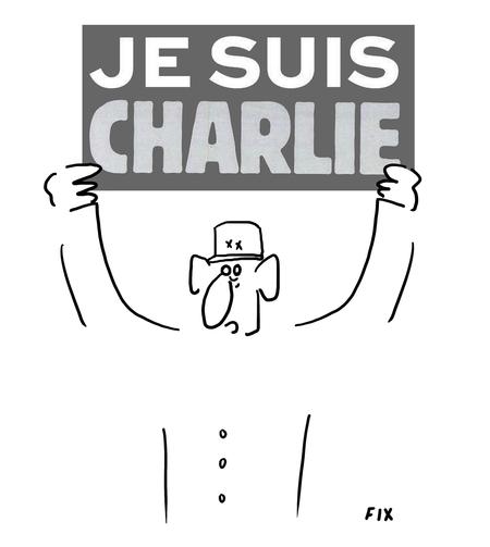 De Gaulle: Je suis Charlie!