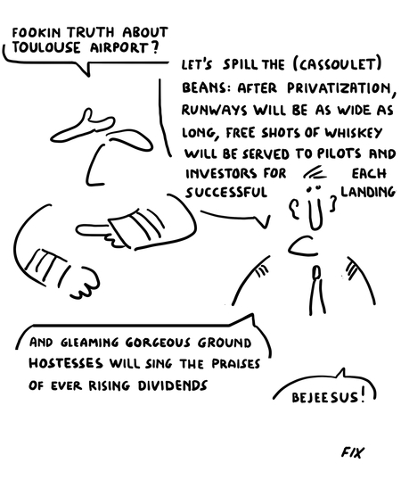 Fookin Truth About Toulouse Airport