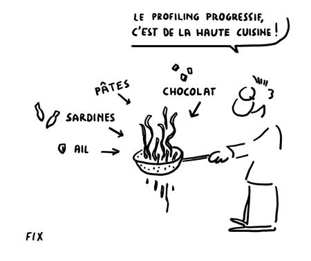 le profiling progressif c'est de la haute cuisine