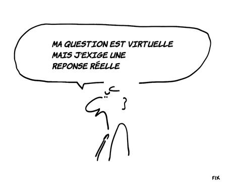 La réponse réelle sera fournie dans un temps virtuel