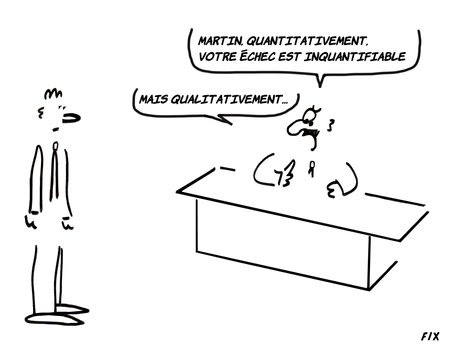 Quantits impondrables ou inqualifiables&#160;?