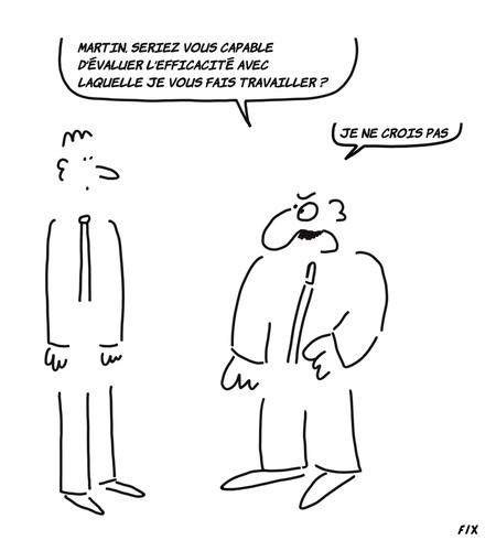 Si le chef est évaluable, que dire de ses collaborateurs?