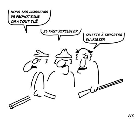 Instituer des périodes de fermeture de la chasse?