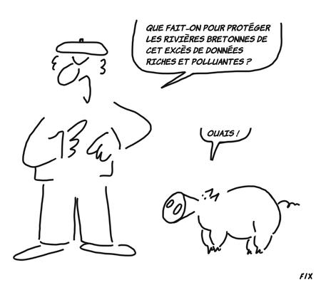 Diluer avec d'autres data? Arrêter de donner des perles aux cochons? Utiliser des bactéries mange-data?